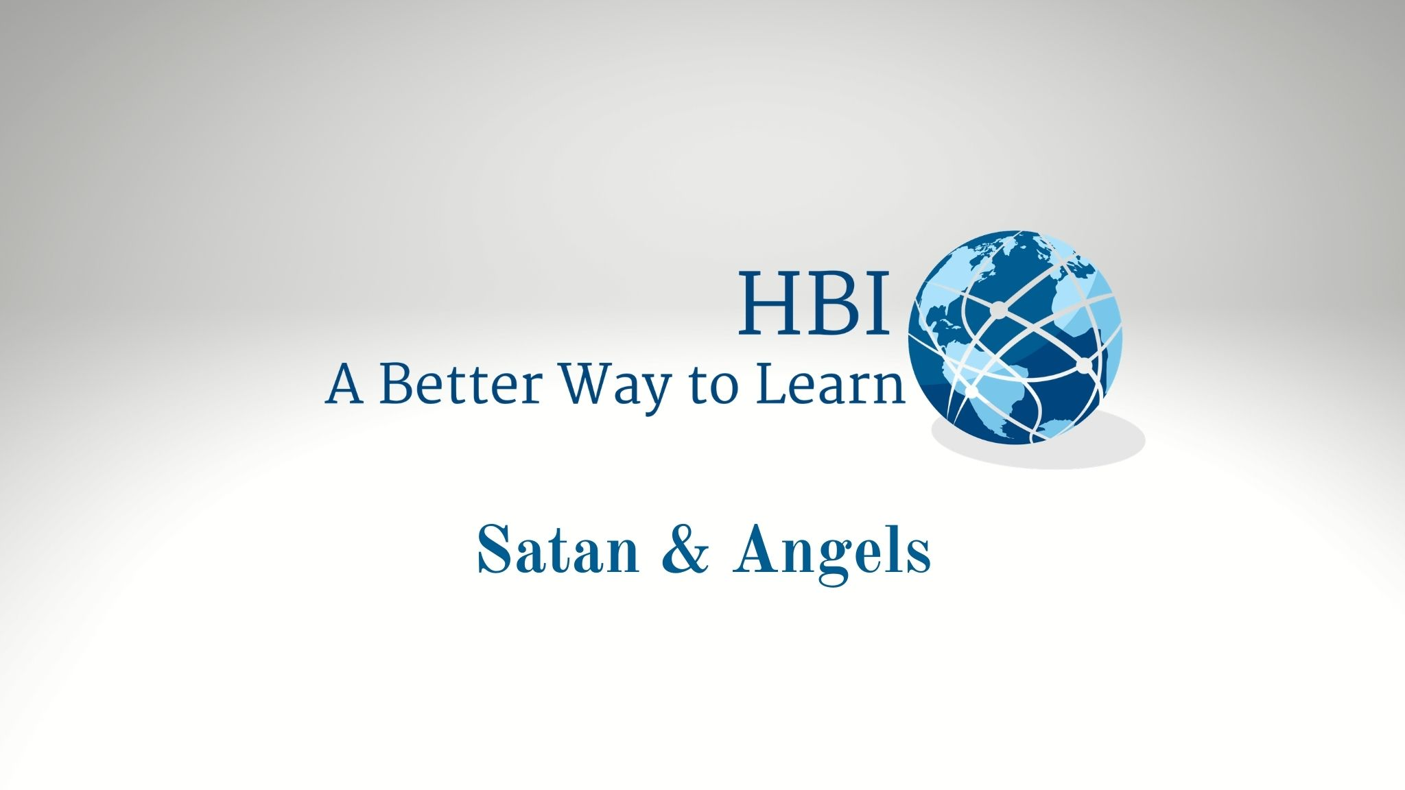 Satan and Angels